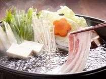 選べる鍋プラン(豚しゃぶイメージ)