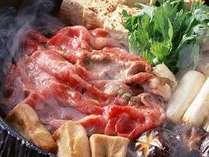 選べる鍋プラン(牛すき焼きイメージ)