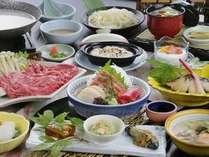 季節によって変わる和食膳(一例)