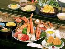 【当館人気No.1プラン】●4種類から選べる炭火焼●お肉or海鮮orカニorミックスを炭火でジュワッっと♪