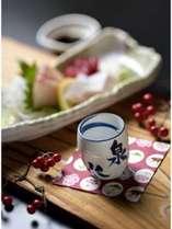 料理自慢の宿の会席料理と米どころ岡山の地酒で舌鼓♪