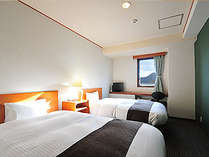 【スタンダードツイン】120cm幅ベッド。(禁煙・喫煙有り)