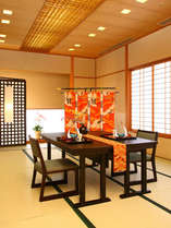☆おしゃれな個室☆イスとテーブルでお食事