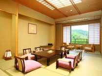 ◆客室一例◆広々とした和室でごゆっくりとお寛ぎください