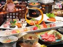 【夕食】当館最高グレード☆彡冬・らん亭膳(一例。変更になる場合もございます)