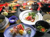 季節の和食会席膳(一例)
