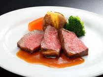 地元ブランド牛の仙台牛ステーキ(一例)