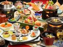 冬の彩り膳料理一例(器など変更になる場合もございます)