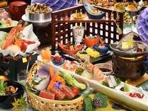 ★★★らん亭膳・秋(器やお料理は一例です)