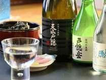☆ おいしい地酒とともに至福のひと時を。美味しい地元産ワインも取り揃えております。