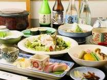 ☆ 山の幸をたっぷり!一品一品丁寧に作りした旬の食材を味わえる料理。