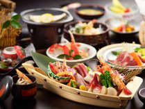 *【旬の彩りコース】新鮮な魚介を始め、その季節毎の旬な食材を使った当ホテルのスタンダードコースです。