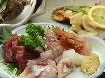 活!旬の新鮮な魚のお刺身盛り合わせプラン