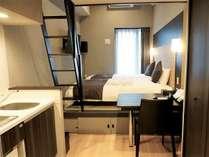 <和モダン・ツインルーム>客室一例