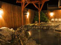 【露天風呂】雰囲気のある露天風呂