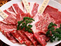 【夕食のみプラン】 朝食はなくていい、でも夕食は阿蘇名物 『あか牛5種類の部位食べ比べ』 1泊夕食付