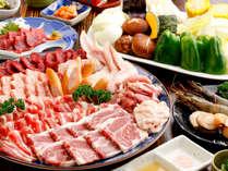 【夕食のみプラン】 朝食なし。夕食は、お腹一杯あか牛じゃなくても美味しい『焼肉食べ放題』  1泊夕食付