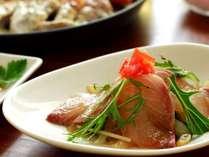 新鮮な魚のカルパッチョ(イメージ)