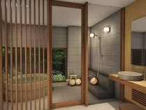 新装貸切風呂イメージパース(3)