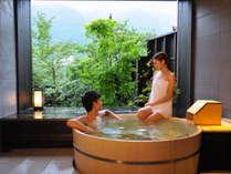 【ゆらぎ貸切風呂】源泉かけ流し貸切風呂は、7つすべてが異なる造り。