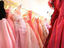 *お気に入りのドレスを見つけて記念撮影をしましょう!