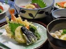 瀬戸内の旬の魚介と山菜を使った手作り料理