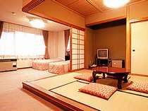 *和・洋どちらもお楽しみいただけるコンビネーションルーム。(和洋室一例)