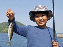 【釣れた魚は夕食に★】海釣りセット貸出あり♪竿・仕掛け・餌等貸出いたします。