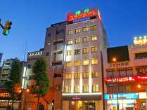 福井駅西口から横断歩道1本