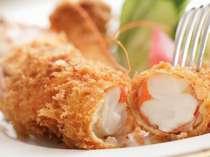 サライ名物 ジャンボ海老フライは大人気