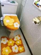 お客さん共用トイレです!