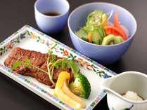 【直前予約】 料金そのまま☆美味しさ大盛り●葡萄牛ロースステーキプラン
