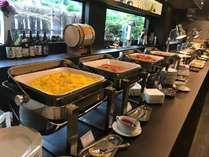豊富な種類がうれしい朝食バイキング♪和・洋を中心としたメニューをご用意いたしております☆