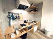 宿泊者専用共用キッチン