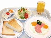 【朝食】洋食メニュー
