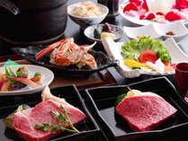神戸ビーフ/但馬牛。赤身とロースの食べ比べ。彩月は本物で貫きます。紀州備長炭で贅沢に。