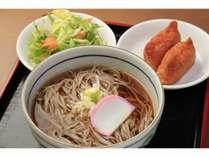 【無料朝食】名物信州そばといなり寿司をご賞味下さい♪