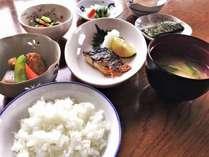 手作りの朝食(和食・日替わり)