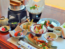【お料理・全景】季節の一例