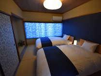 2階主寝室シモンズでセミダブルでゆったりおやすみください