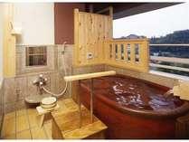 楽水館 露天風呂一例