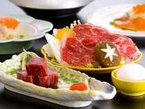 【ブランド牛を味わう】 群馬・上州牛ステーキと上州牛すき焼き付 ぎゅうぎゅうプラン