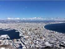 函館山からの景色~冬~