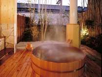 総檜の貸切露天風呂【二人静(ふたりしずか)】予約不要/回数・時間制限なしでご利用いただけます
