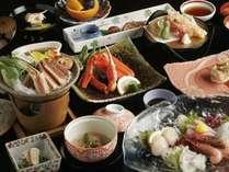 【標準コース・四季彩「冬」】※11月初旬~3月末頃までカニ料理を2品ご提供(冷凍がに使用)