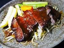 黒毛和牛のステーキ※イメージ画像です