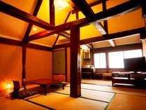 別館、古民家和室【春】
