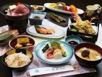 ◇【スタンダード】山の味・海の味♪食の宝庫・鶴岡を食べつくす![1泊2食付]お食事は個室またはお部屋で