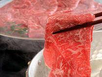 【2食】【和膳 + 国産牛肉しゃぶしゃぶコース】夕食ランクアップ!お好みで選べるメニューが大好評!