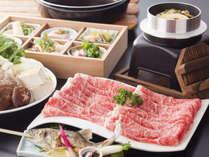 【食の秋必見!国産松茸と奈良県ブランド牛「大和牛」のすき焼き会席プラン】